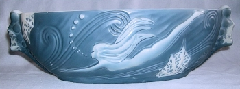Diving Girl Banana Boat without border