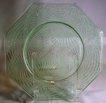 Romanesque, plate without borders
